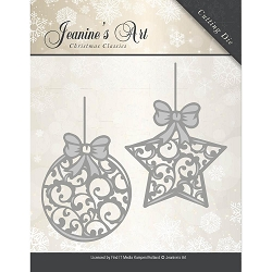 Find It Trading - Jeanine's Art Die - Christmas Classic Christmas Ornaments