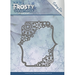 Find It Trading - Jeanine's Art Die - Frosty Ornaments Rectangle Ornament