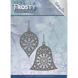 Find It Trading - Jeanine's Art Die - Frosty Ornaments Christmas Baubles