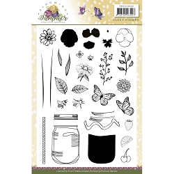 Find It Trading - Precious Marieke Clear Stamps - Blooming Summer