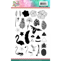 Find It Trading - Yvonne Creations Clear Stamp - Happy Tropics