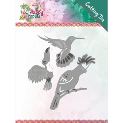 Find It Trading - Yvonne Creations Die - Happy Tropics Exotic Birds