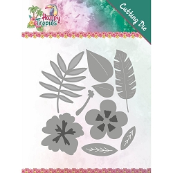 Find It Trading - Yvonne Creations Die - Happy Tropics Tropical Blooms