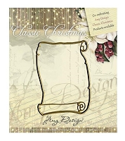 Find It Trading - Amy Design Die - Classic Christmas Scroll