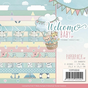 Find It Trading - Yvonne Creations - Welcome Baby 6