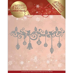 Find It Trading - Precious Marieke Die - Merry & Bright Christmas Christmas Garland