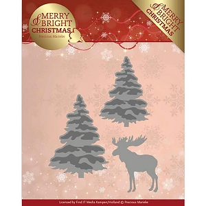 Find It Trading - Precious Marieke Die - Merry & Bright Christmas Forest