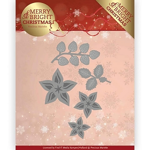 Find It Trading - Precious Marieke Die - Merry & Bright Christmas Christmas Florals