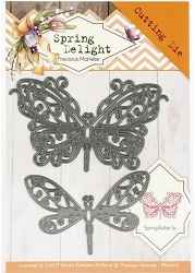 Find It Trading - Precious Marieke Die - Spring Delight Spring Butterfly