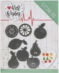 Find It Trading - Jeanine's Art Die - Well Wishes Fruits