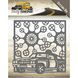 Find It Trading - Amy Design Die - Daily Transport Car Frame