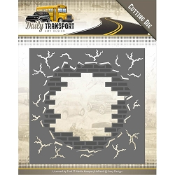 Find It Trading - Amy Design Die - Daily Transport Brick in the Wall