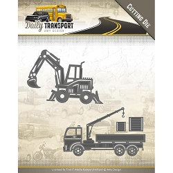 Find It Trading - Amy Design Die - Daily Transport Construction Vehicles
