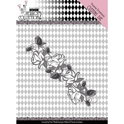 Find It Trading - Yvonne Creations Die - Pretty Pierrot Rose Border