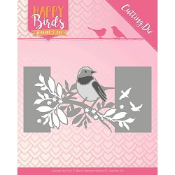 Find It Trading - Jeanine's Art Die - Happy Birds Bird Sleeve