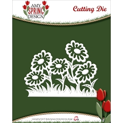 Find It Trading - Amy Design Die - Spring Design Daisies