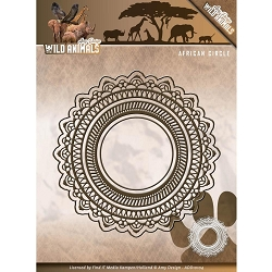 Find It Trading - Amy Design Die - Wild Animals African Frame