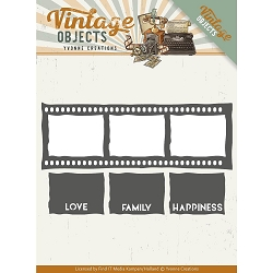 Find It Trading - Yvonne Creations Die - Vintage Objects Film Strip