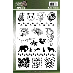 Find It Trading - Amy Design Clear Stamp - Wild Animals 2
