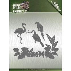 Find It Trading - Amy Design Die - Wild Animals 2 Tropical Birds