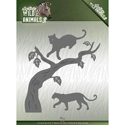 Find It Trading - Amy Design Die - Wild Animals 2 Panther