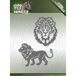 Find It Trading - Amy Design Die - Wild Animals 2 Lion