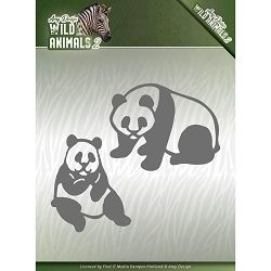 Find It Trading - Amy Design Die - Wild Animals 2 Panda Bear