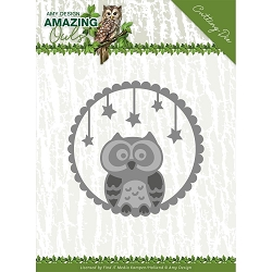 Find It Trading - Amy Design Die - Amazing Owls Night Owl