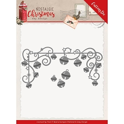 Find It Trading - Amy Design Die - Nostalgic Christmas Hanging Bells