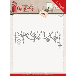 Find It Trading - Amy Design Die - Nostalgic Christmas Hanging Snowflakes