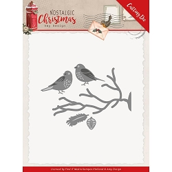 Find It Trading - Amy Design Die - Nostalgic Christmas Birds