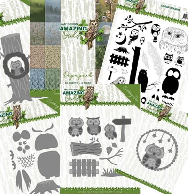 Find-It Trading - Amy Design Amazing Owls Collection