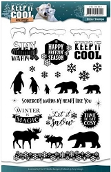 Find It Trading - Amy Design Clear Stamps - Keep It Cool