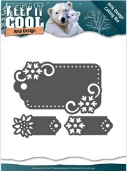 Find It Trading - Amy Design Die - Keep It Cool Tags