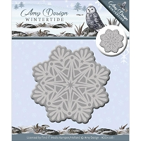Find It Trading - Amy Design Die - Wintertide Ice Crystal Snowflake
