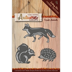 Find It Trading - Yvonne Creations Die - Autumn Colors Forest Animals
