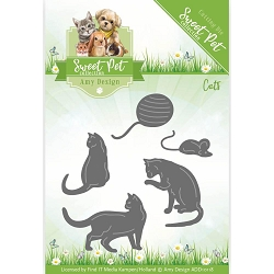 Find It Trading - Amy Design Die - Sweet Pet Cats