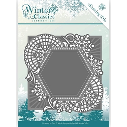 Find It Trading - Jeanine's Art Die - Winter Classics Mosaic Frame