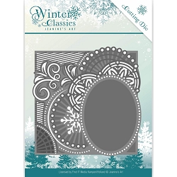 Find It Trading - Jeanine's Art Die - Winter Classics Curly Frame