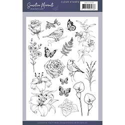Find It Trading - Jeanine's Art Clear Stamp - Sensitive Moments