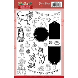 Find It Trading - Amy Design Clear Stamp - Christmas Pets