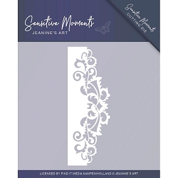 Find It Trading - Jeanine's Art Die - Sensitive Moments Swirl Border