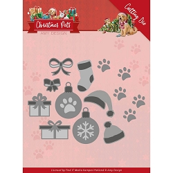 Find It Trading - Amy Design Die - Christmas Pets Decorations