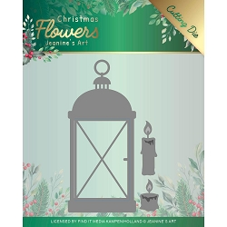 Find It Trading - Jeanine's Art Die - Christmas Flowers Christmas Lantern