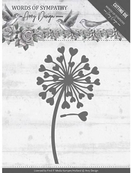 Find It Trading - Amy Design Die - Words of Sympathy Dandelion Flower