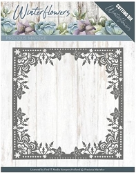 Find It Trading - Precious Marieke Die - Winter Flowers Ice Flower Frame