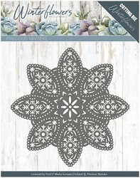 Find It Trading - Precious Marieke Die - Winter Flowers Floral Snowflake