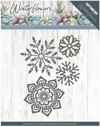 Find It Trading - Precious Marieke Die - Winter Flowers Ice Flowers