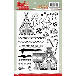 Find It Trading - Yvonne Creations Clear Stamp - Sweet Christmas