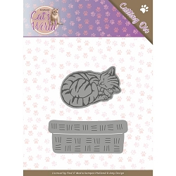 Find It Trading - Amy Design Die - Cat's World Sleeping Cat